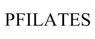 PFILATES trademark