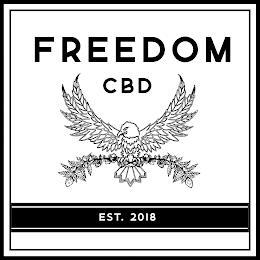 FREEDOM CBD EST. 2018 trademark