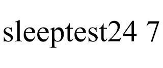 SLEEPTEST24 7 trademark