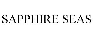 SAPPHIRE SEAS trademark