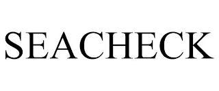SEACHECK trademark