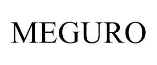 MEGURO trademark