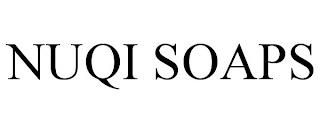 NUQI SOAPS trademark