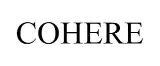 COHERE trademark