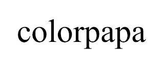 COLORPAPA trademark