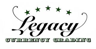 LEGACY CURRENCY GRADING trademark