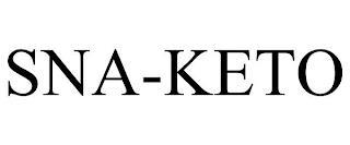 SNA-KETO trademark