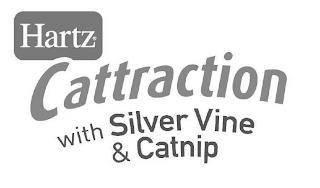 HARTZ CATTRACTION WITH SILVER VINE & CATNIP trademark