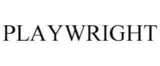 PLAYWRIGHT trademark