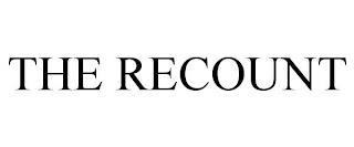 THE RECOUNT trademark
