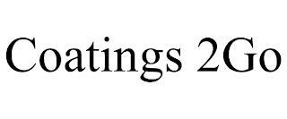 COATINGS 2GO trademark