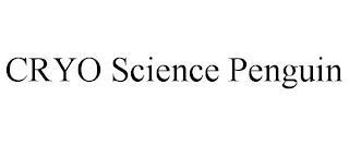 CRYO SCIENCE PENGUIN trademark