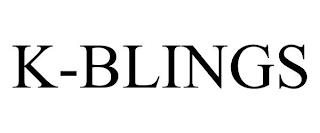 K-BLINGS trademark