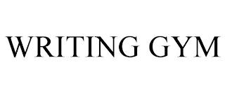 WRITING GYM trademark