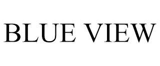 BLUE VIEW trademark