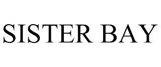 SISTER BAY trademark