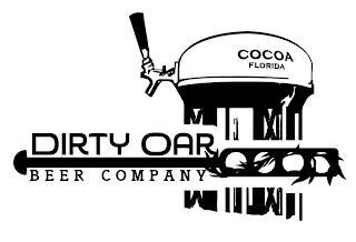 DIRTY OAR BEER COMPANY COCOA FLORIDA trademark