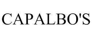 CAPALBO'S trademark