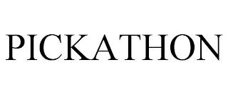PICKATHON trademark