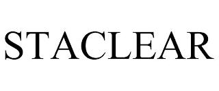 STACLEAR trademark