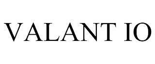 VALANT IO trademark