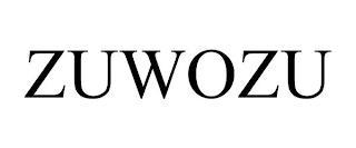 ZUWOZU trademark