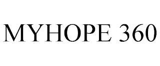 MYHOPE 360 trademark