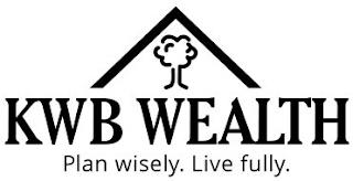 KWB WEALTH PLAN WISELY. LIVE FULLY. trademark