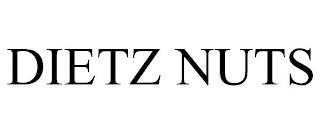 DIETZ NUTS trademark