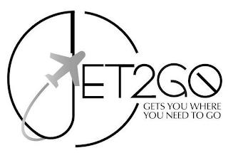 JET2GO GETS YOU WHERE YOU NEED TO GO trademark