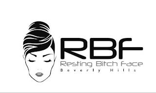 RBF RESTING BITCH FACE trademark