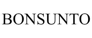 BONSUNTO trademark