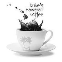 DUKE'S HAWAIIAN COFFEE trademark