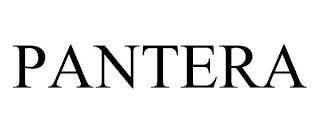 PANTERA trademark