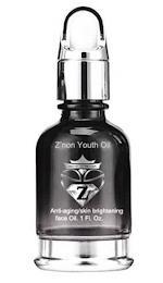 Z'NON YOUTH OIL ANTI-AGING/SKIN BRIGHTENING FACE OIL. 1 FL. OZ. trademark