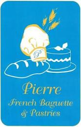 P PIERRE FRENCH BAGUETTE & PASTRIES trademark