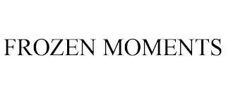 FROZEN MOMENTS trademark