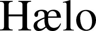 HAELO trademark