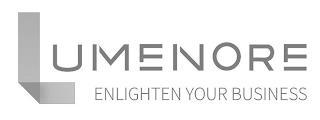 LUMENORE ENLIGHTEN YOUR BUSINESS trademark