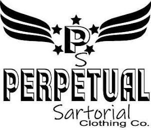 PS PERPETUAL SARTORIAL CLOTHING CO. trademark