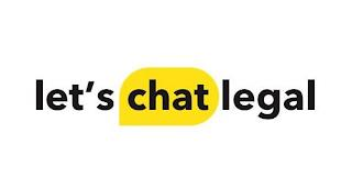 LET'S CHAT LEGAL trademark