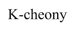 K-CHEONY trademark