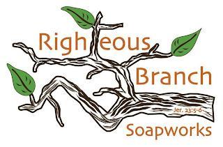 RIGHTEOUS BRANCH SOAPWORKS JER.23:5-6 trademark