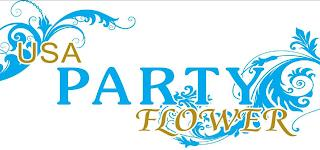 USA PARTY FLOWER trademark