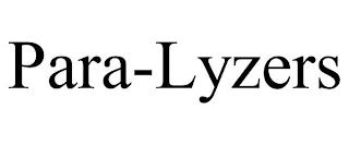 PARA-LYZERS trademark