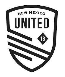 NEW MEXICO UNITED 18 trademark