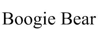 BOOGIE BEAR trademark