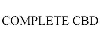 COMPLETE CBD trademark