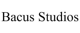 BACUS STUDIOS trademark