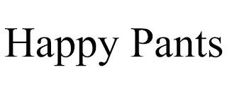 HAPPY PANTS trademark